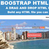 Bootstrap HTML Builder with PHP & jQuery