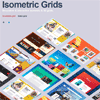 Isometric and 3D Grids with CSS3