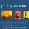 jQuery Museum : A zero-clutter jQuery Image Gallery