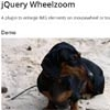 jQuery Wheelzoom : A plugin to enlarge IMG elements on mousewheel/trackpad